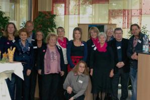 Die Mitglieder der Aktionsgruppe Augsburg